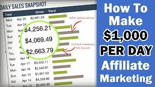 How to Make $1,000+ Per DAY with Affiliate Marketing