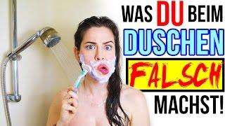 CRAZY DINGE DIE DU BEIM DUSCHEN FALSCH MACHST! BEAUTY LIFE HACKS