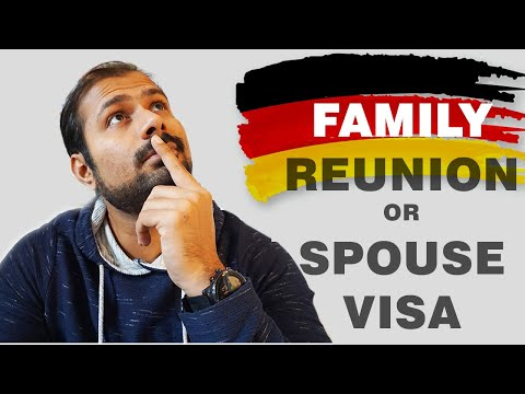 Family reunion or Spouse visa for Germany | General Process | Part.1