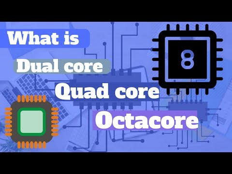 what is Single core, Dual core, Quad core and Octa core processor 2017
