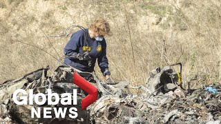 Kobe Bryant death: NTSB says crash was