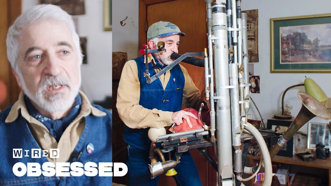 How This Guy Makes DIY Musical Contraptions | Obsessed