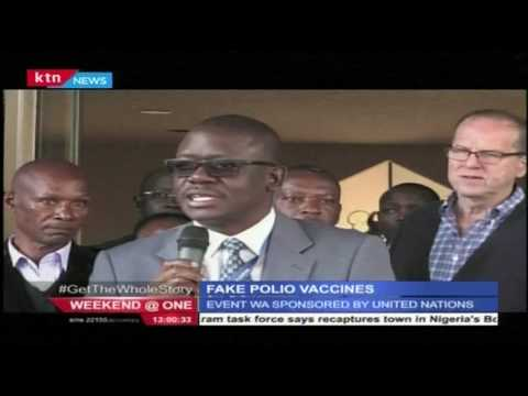Fake polio vaccines destroyed at medical research institute to avoid accidental release