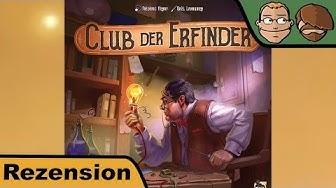 Club der Erfinder - Brettspiel - Review