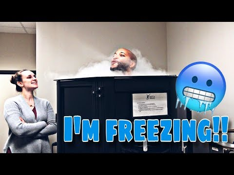CRYOTHERAPY FOR THE FIRST TIME !