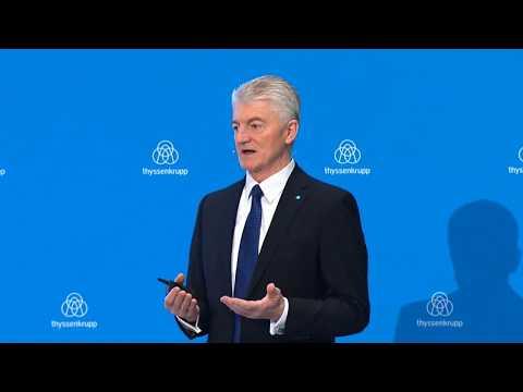 thyssenkrupp Bilanzpressekonferenz 2017