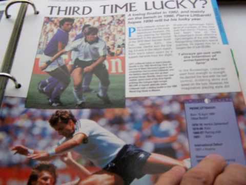 ORBIS 1990 WORLD CUP COLLECTION-#114-SCOTLAND /& BORUSSIA DORTMUND-MURDO MacLEOD