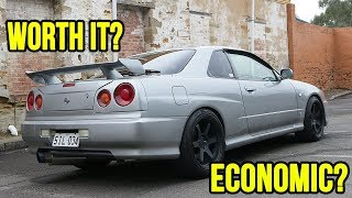 PROS and CONS of owning an R34 SKYLINE as a TEENAGER