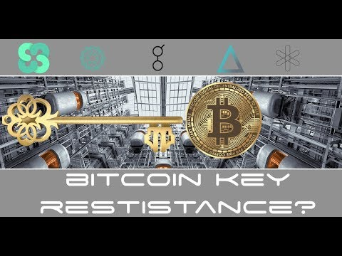 Bitcoin Hits Key Resistance - Altcoin News Dent, Ethos, SALT, Power Ledger, Golem