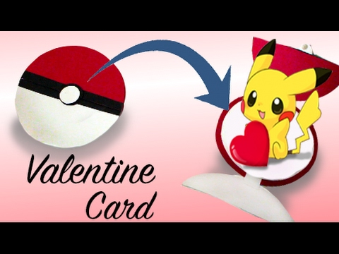 Pokemon Valentines Card Diy Youtube