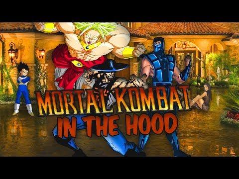 Mortal Kombat In The Hood : Broly Vs Vegeta | ANIMATION