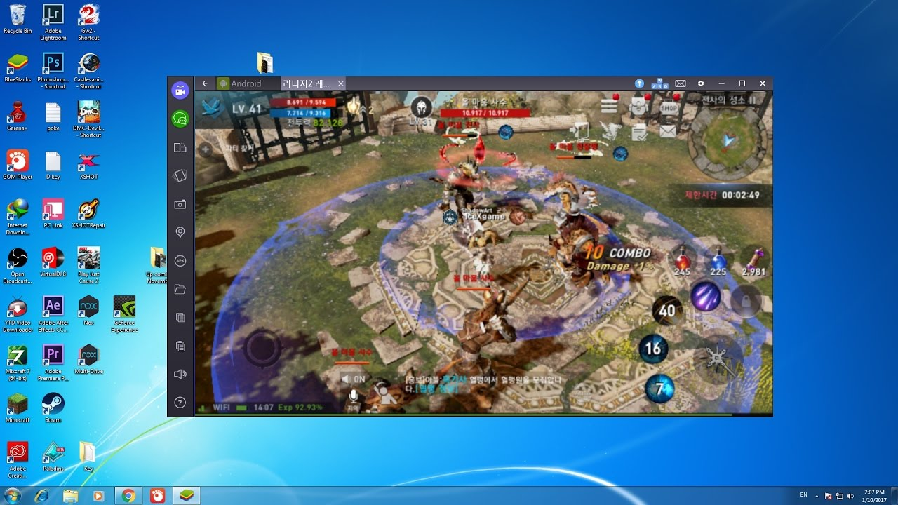 Who to play in Lineage 2