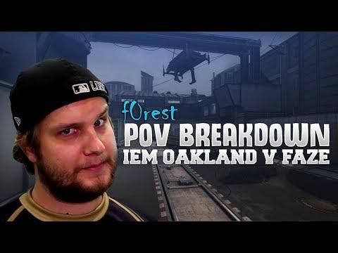 POV Breakdown - f0rest vs Faze on Train (Grand final IEM Oakland 2017)