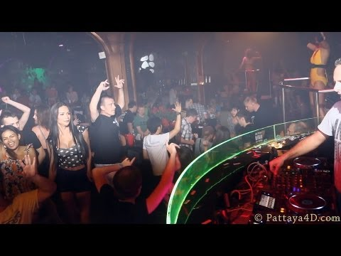 Pattaya Nightlife Disco LimaLima Club end of Walking Street at Bali Hai