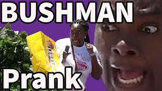 Funny Video! BUSHMAN PRANK in Vegas! Funniest Video Ever