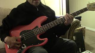 The Supremes - Come see about me - Bass Play along