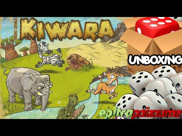 Kiwara - Unboxing & Impressions (EN) by Epitrapaizoume