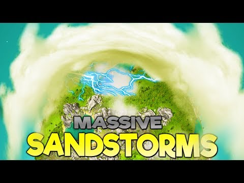 GIANT SANDSTORMS AND DISEASE DESTROY VILLAGE! Can They Survive? - The Universim Gameplay Part 2