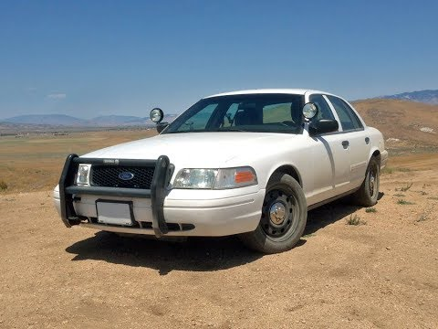 Off Roading In A Ford Crown Victoria Police Interceptor