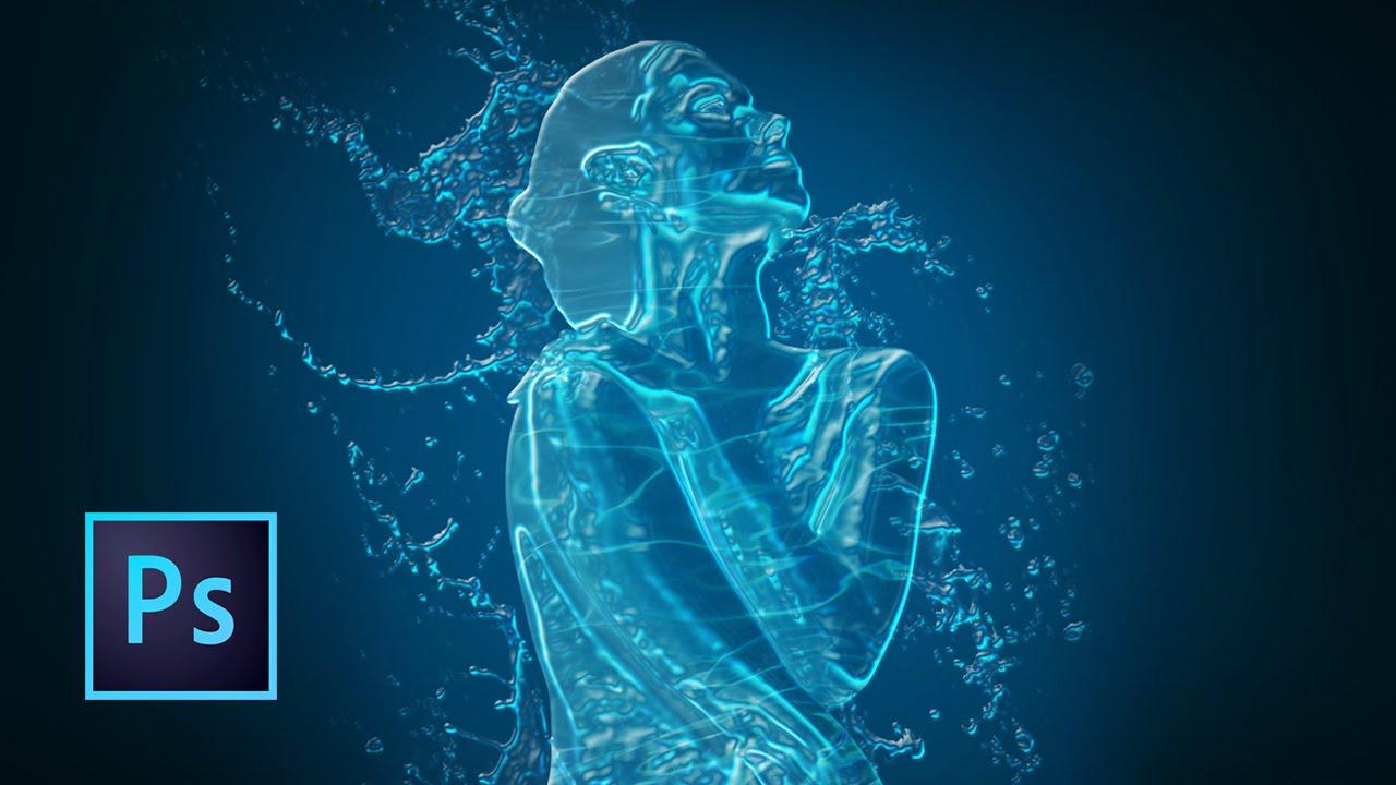 Tutorial photoshop efecto agua chica de agua youtube for Construccion de piletas de agua