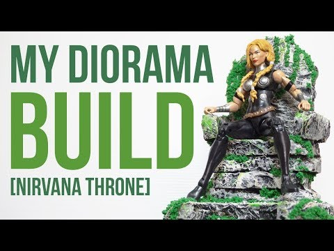 02 [Nirvana Throne] My Diorama Build | Marvel Legends Valkyrie
