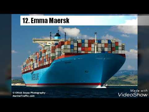 12 largest container ship ever seen..must watch it
