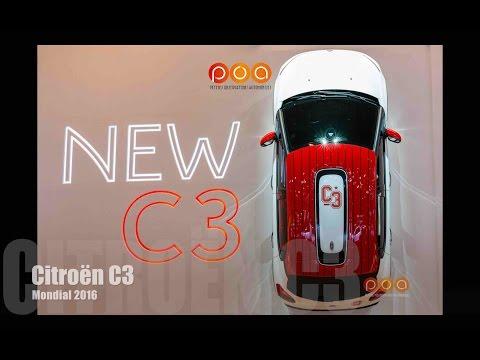 Nouvelle Citroën C3 2016 - Mondial de l'Automobile 2016 1/20
