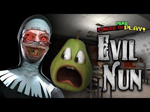 Pear FORCED to Play - EVIL NUN! #Shocktober