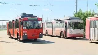 03 08 2018 Энергосберегающий троллейбус появился на улицах Ижевска