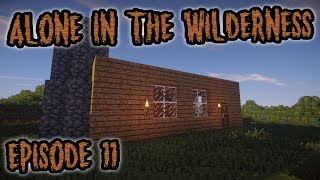 Minecraft Survival Roleplay: Alone In The Wilderness|Episode 11-Cozy Home & Antioxidants! #Minecraft