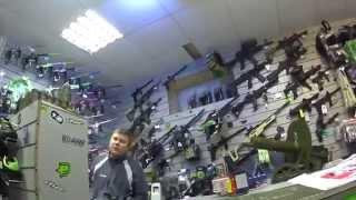 видео пейнтбольный магазин