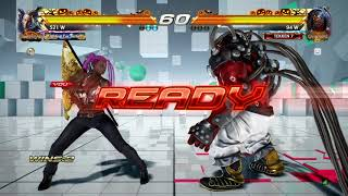 TEKKEN™7 FOCKER ( RAVEN ) vs Joey_Fury ( Gigas ) Rank Matches