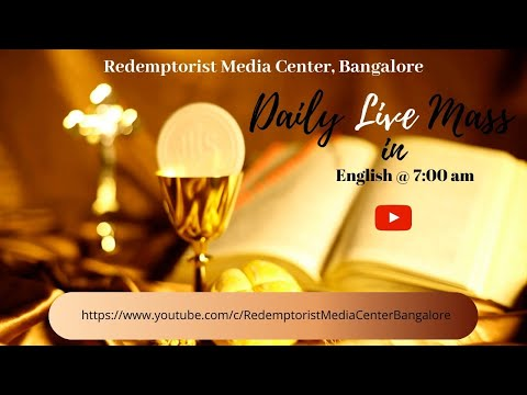 English Mass @ 7.00 A.M. - 5th November (Thursday) - Daily Live Mass