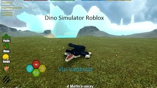 Dino Simulator 1.rész ROBLOX (HUN) #Krokodil