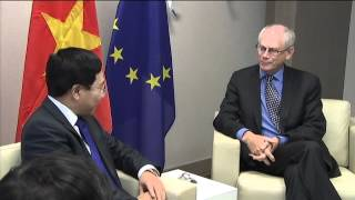Meeting with the Minister of Foreign Affairs of Vietnam, Pham Binh Minh
