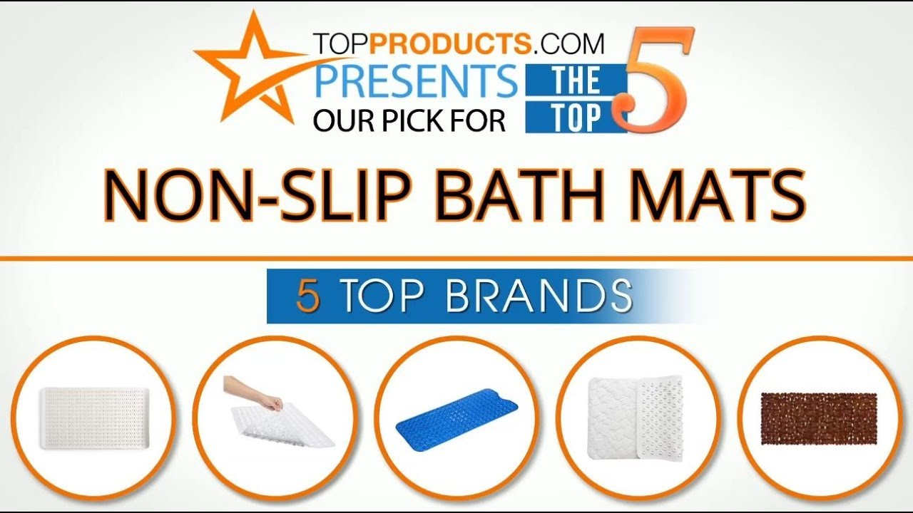 Best Non Slip Bath Mat Reviews 2017 \u2013 How To Choose The Best Non .