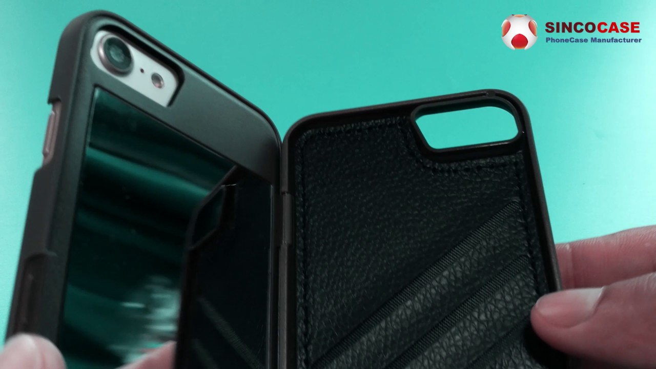 the best attitude 29dba 82319 phone case with debit card holder / iphone case wallet mirror - wholesale  from china factory