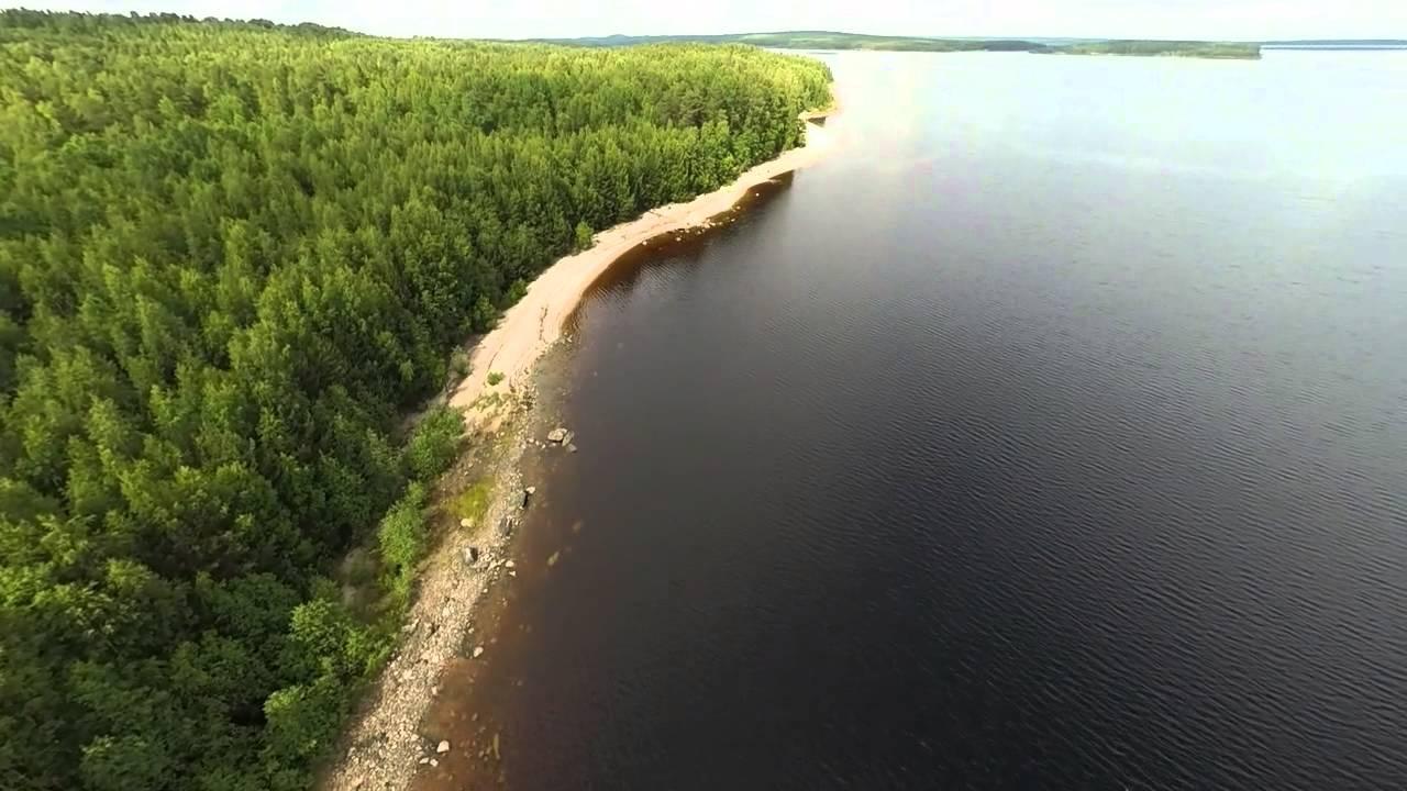 озеро пальеозеро видео