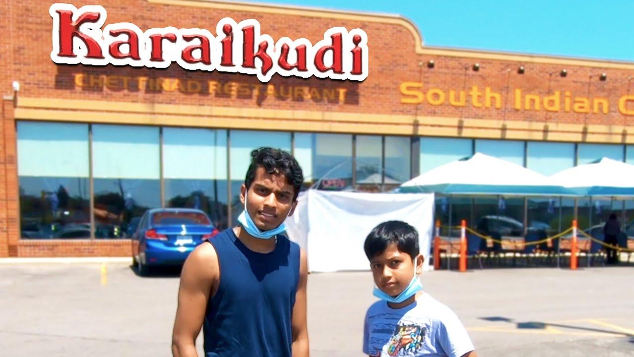 கனடாவில் காரைக்குடி செட்டிநாடு Chicken Biriyani Review VLOG in Tamil | VelBros Tamil