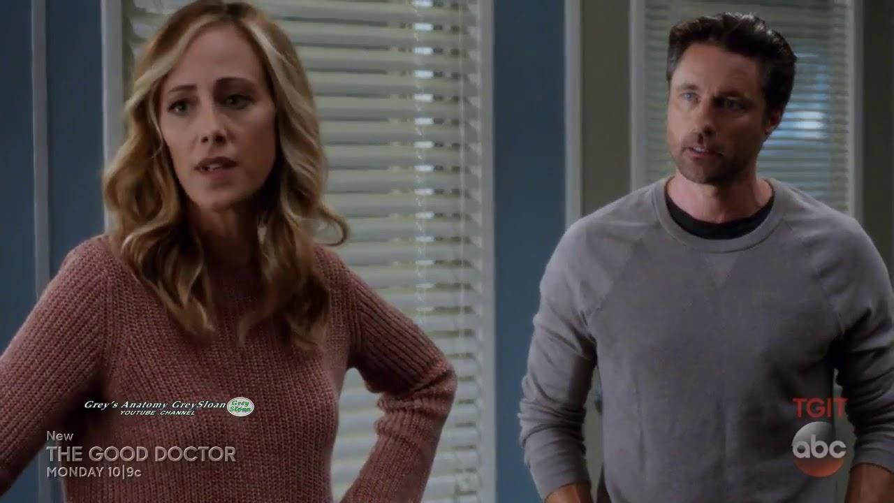Greys Anatomy 14x01 14x02 Owen Teddy Scenes Shes His Person Season