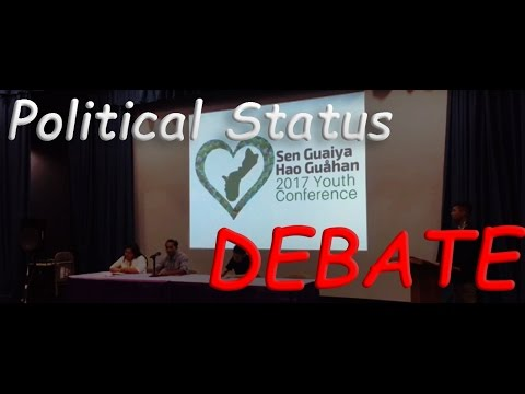 Guam's Youth DEBATE Political Status!