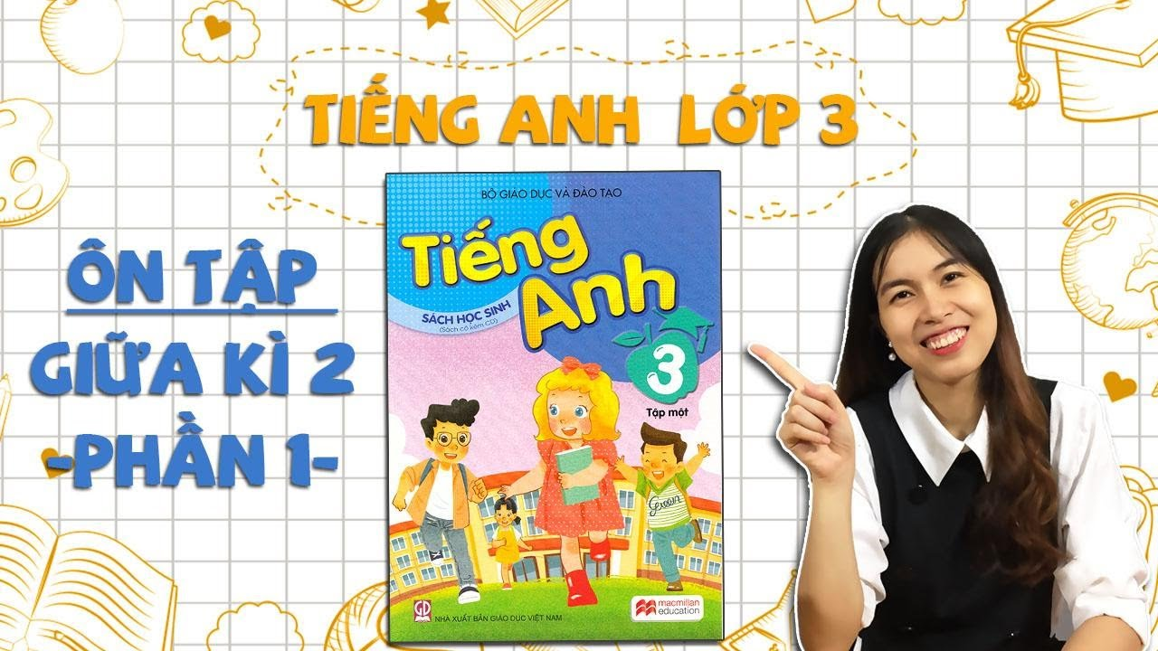 Học tiếng Anh lớp 3 - ÔN TẬP GIỮA KÌ 2 - Phần 1 (Unit 11 + Unit 12 + Unit 13)  - THAKI