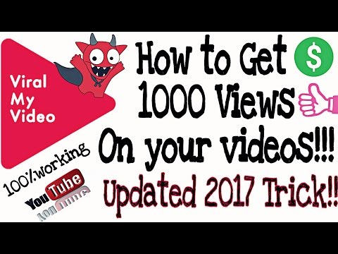 How to get more views on your videos || viral my video app review