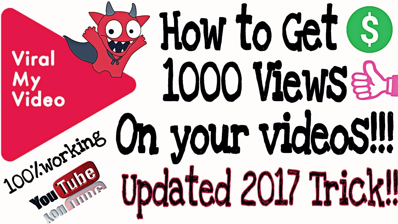 how to make your youtube video get more views