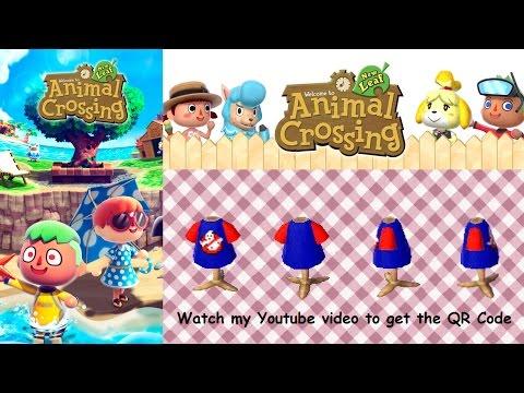 ACCESS YouTube Impressive Animal Crossing New Leaf Sewing Machine Qr Codes