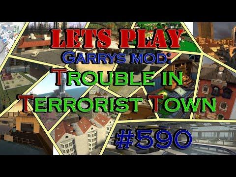 Lets Play Garrys Mod - Trouble in Terrorist Town #590 - Wer in den Raum rein geht ist Traitor!