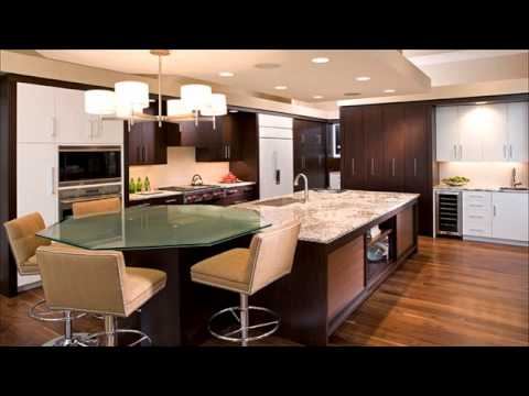 kitchen island with table attached. Interior Design Ideas. Home Design Ideas