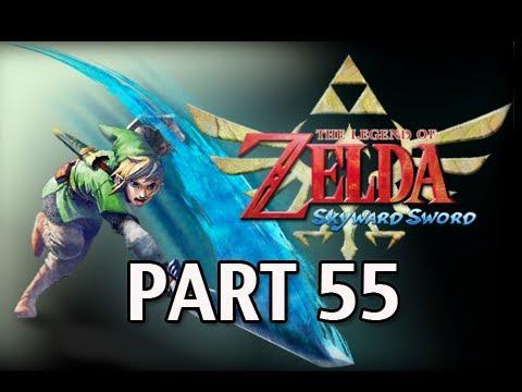 Legend of Zelda Skyward Sword - Walkthrough Part 55 Water Dragon Basin Let's Play HD