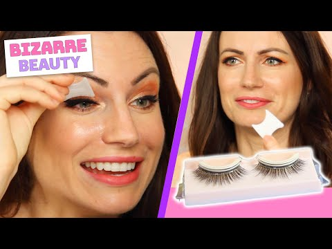 I Try Self-Adhesive Eyelashes • Bizarre Beauty