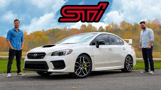 2020 Subaru WRX STI Review // End Of The Line, Pal